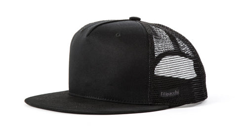 Filipacchi Black Trucker Hat