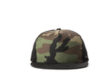 Fillipacchi Camouflage Cotton Trucker Hat