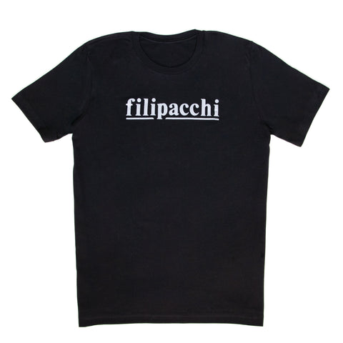 Filipacchi T-Shirt - Logo - Black/White Graphic