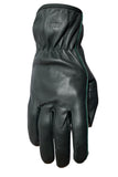 Filipacchi Leather Gloves - Green - Back View