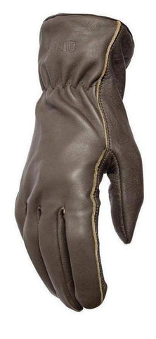 Filipacchi Leather Gloves - Chocolate Brown