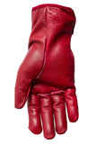 Filipacchi Leather Gloves - Red