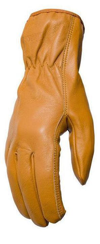 Filipacchi Leather Gloves - Mustard Yellow