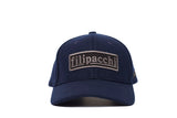 Filipacchi Wool Baseball Cap - Logo - Navy