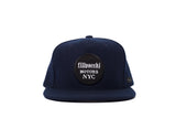 Filipacchi Motor Wool Hat - Blue - Trucker
