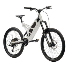 Stealth P-7 Electric Bike- Snow White: 2-4 Week Shipping