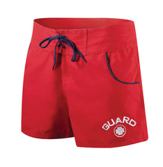 TYR - Women's Guard Shorts - Red