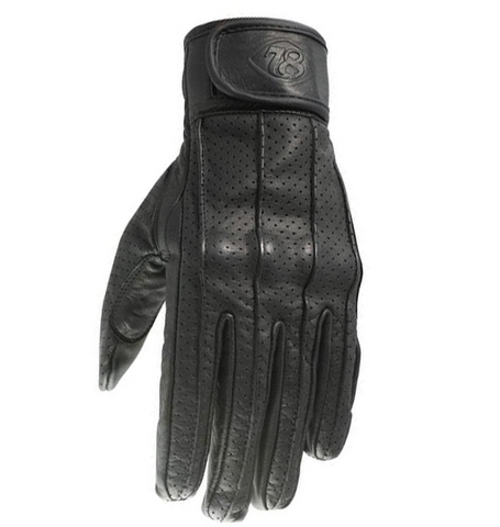 78 Motor Co Speed glove Nappa black