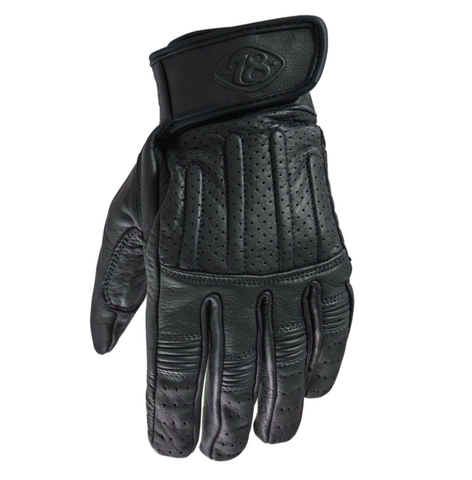 78 Motor Co Sprint Glove Nappa Black