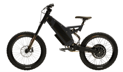 Stealth F-37 Electric Bike- Black Ace (6-8 Week Shipping)