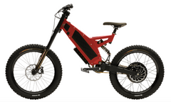Stealth F-37 Electric Bike- Devils Red (6-8 Week Shipping)