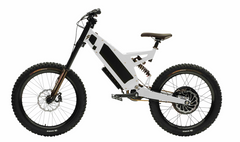 Stealth F-37 Electric Bike- Snow White (6-8 Week Shipping)