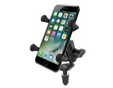 RAM MOUNTS Fork Stem  Mount with X-Grip Cradle - fits 1.87-3.25 width phone