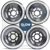 LazyRolling  - Glow wheels 97mm/78a (EVOLVE and ABEC)