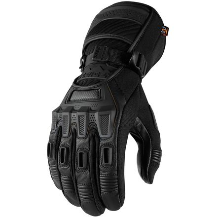 icon Raiden Alcan Gloves -  Black