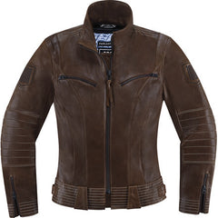 Icon Women Jacket - FairLady - Brown