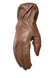 Filipacchi Leather Gloves - Brown