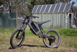 Stealth H-52 Electric Bike- Black Ace: 2-4 Week Shipping