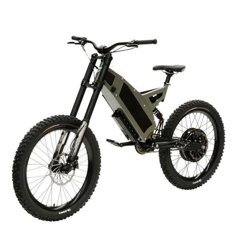 Stealth F-37 Electric Bike- Camo Grey: 2-4 Week Shipping