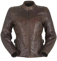 Furygan Women's - Bella Blouson Jacket - cafe