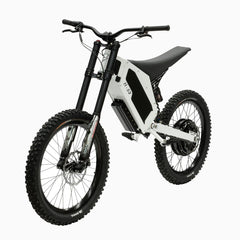 Stealth H-52 Electric Bike- Snow White: 2-4 Week Shipping