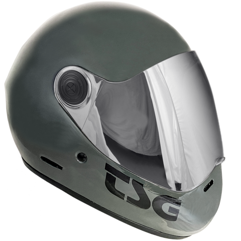 TSG Pass Helmet - Gloss Marsh