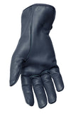 Filipacchi Leather Gloves - Blue - Palm View