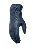 Filipacchi Leather Gloves - Blue