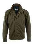 VKTRE - The Ranger Waxed Motorcycle Jacket - Military Green