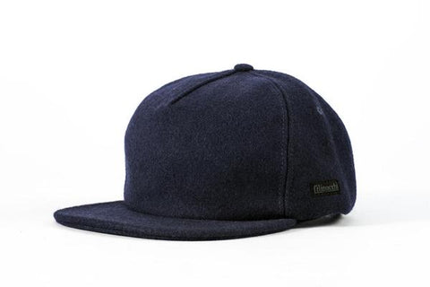 Filipacchi - Vintage Style Wool Cap - Navy