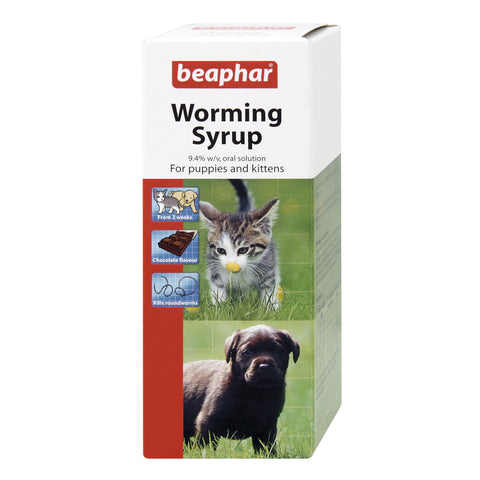 Beaphar Worming Syrup For Puppies 45ml