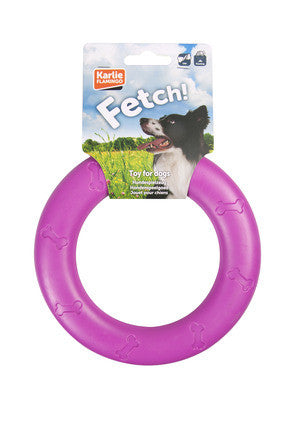 Fetch A Ring TPR Dog Toy