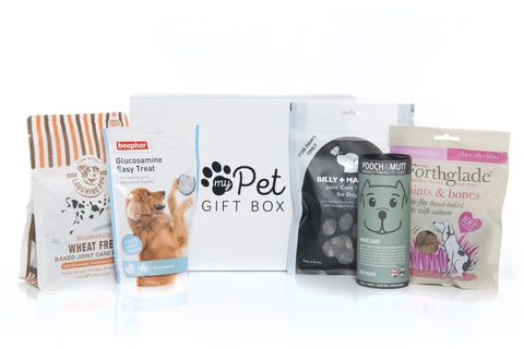 The Joints & Mobility Dog Treats Gift Box