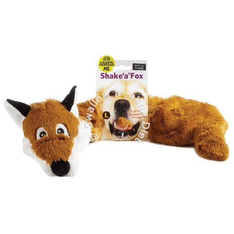 Ruff 'N' Tumble Shake 'A' Fox Large Dog Toy