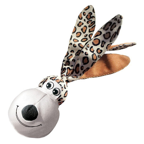KONG Wubba Floppy Ears Leopard Large Dog Toy