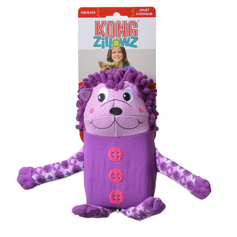 KONG Zillowz Hedgehog Toy Large
