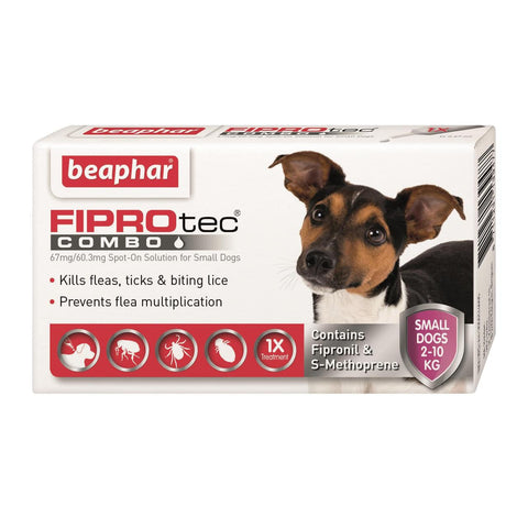 FIPROtec Spot On Small Dog 3 Treatment Pack