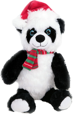 Giant Panda Xmas Dog Toy