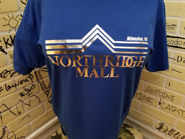 Northridge Mall Logo Tee - Metallics