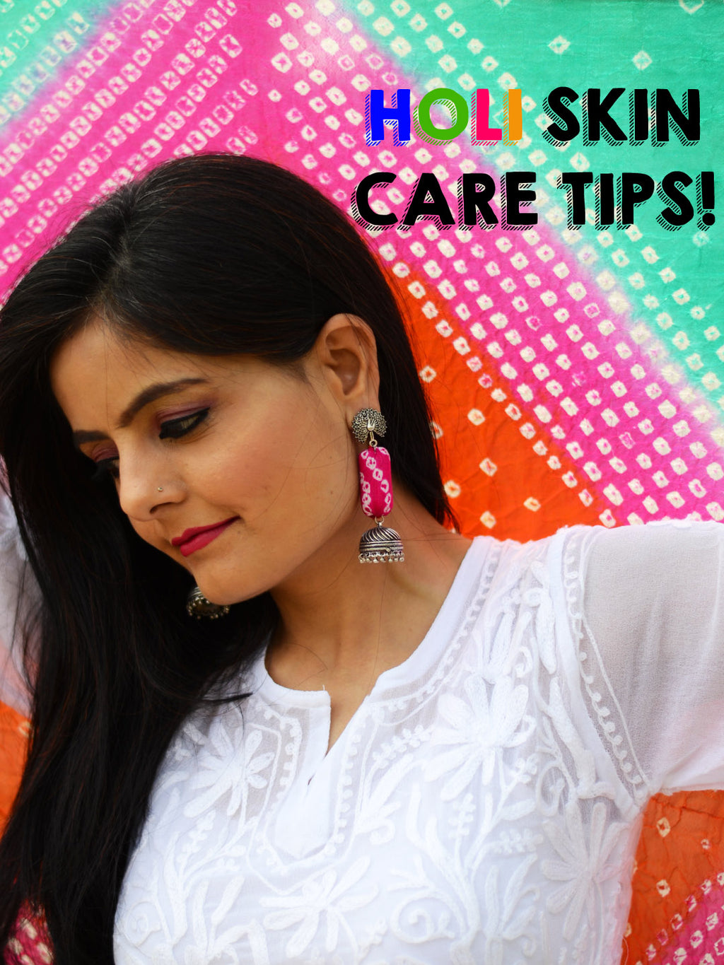 Tips to avoid looking like a horror movie star post Holi!
