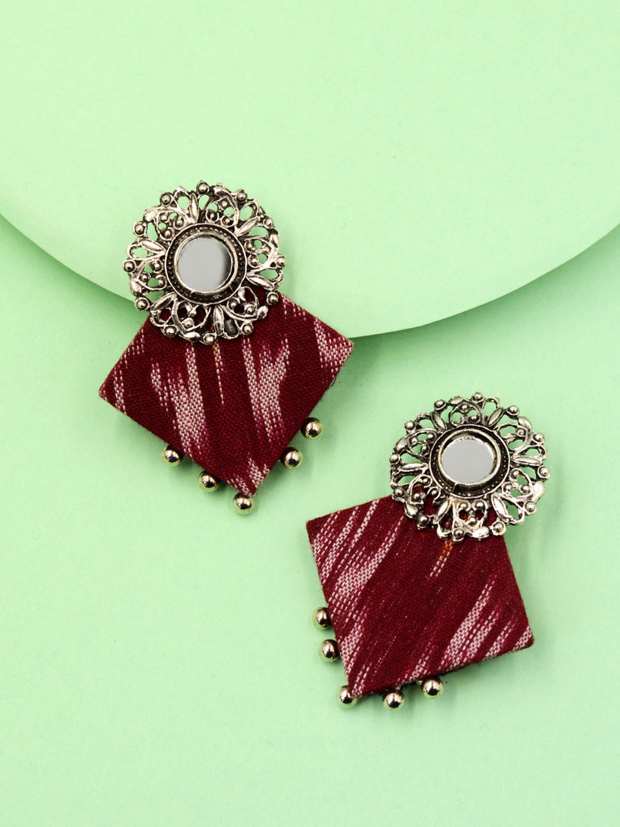 Chakor Ikat Earrings