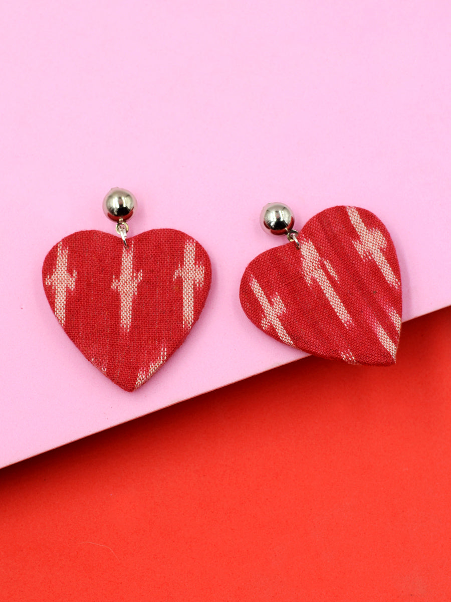 Dil Mera Ikat Earrings