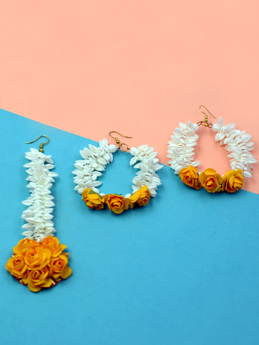 Bahara Maang Tikka & Earrings Set