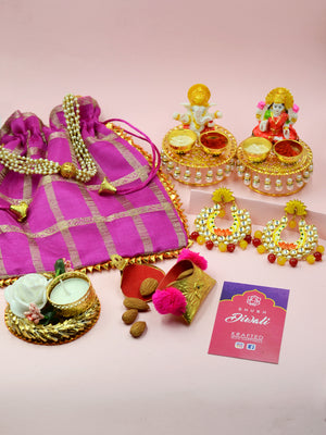 Big Diwali Hamper (Purple)