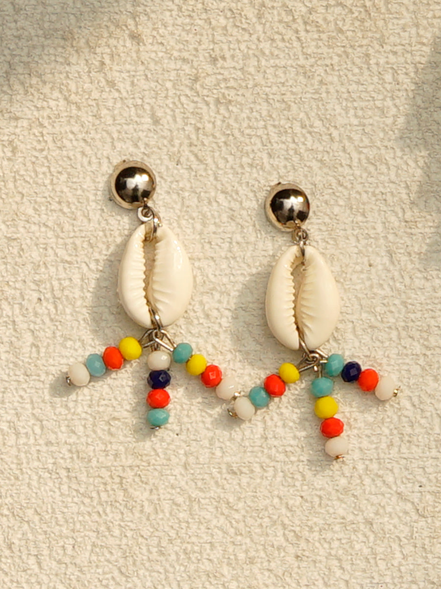 Grace Shell Bead Earrings
