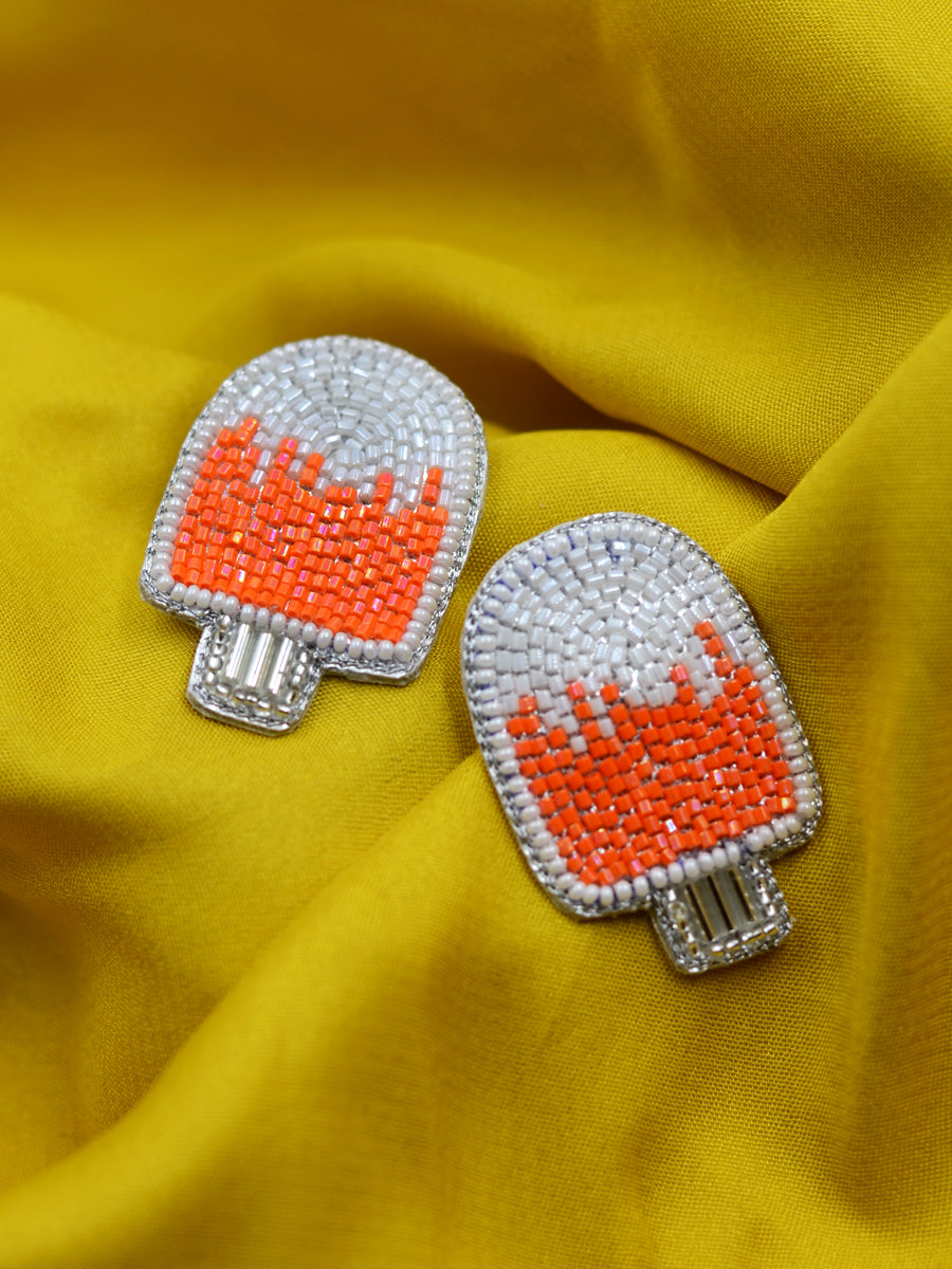 Popsicle Bead Earrings
