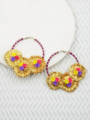 Gota Flora Earrings