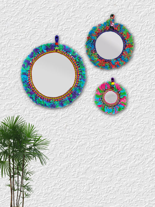 Bohemian Vibe Mirror (Set of 3)