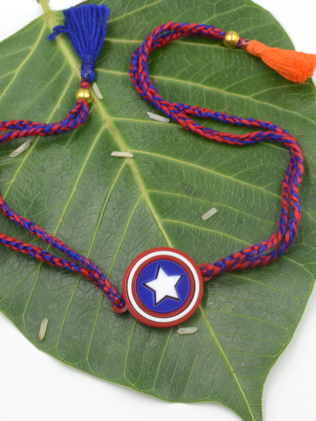 Captain America Superhero Rakhi