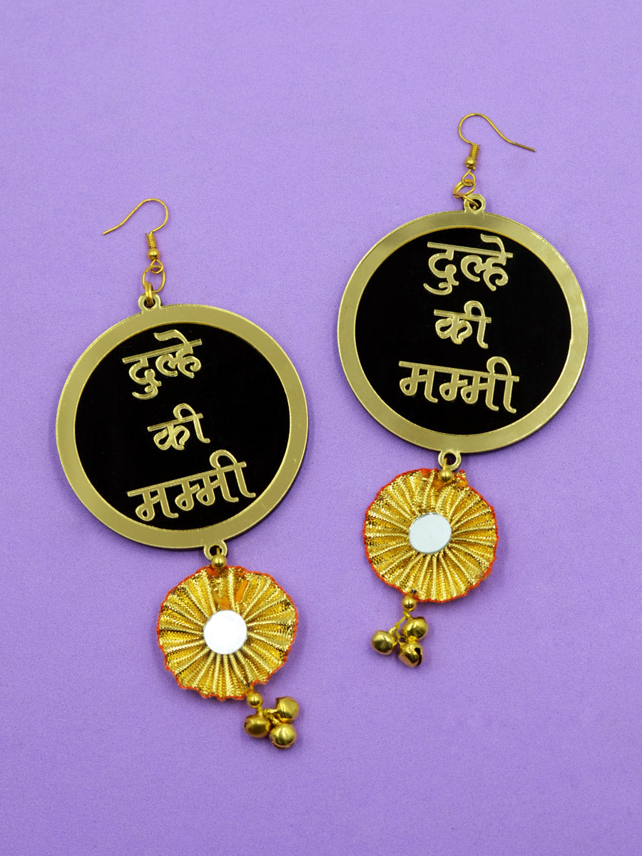 Dulhe ki Mummy Gota Earrings